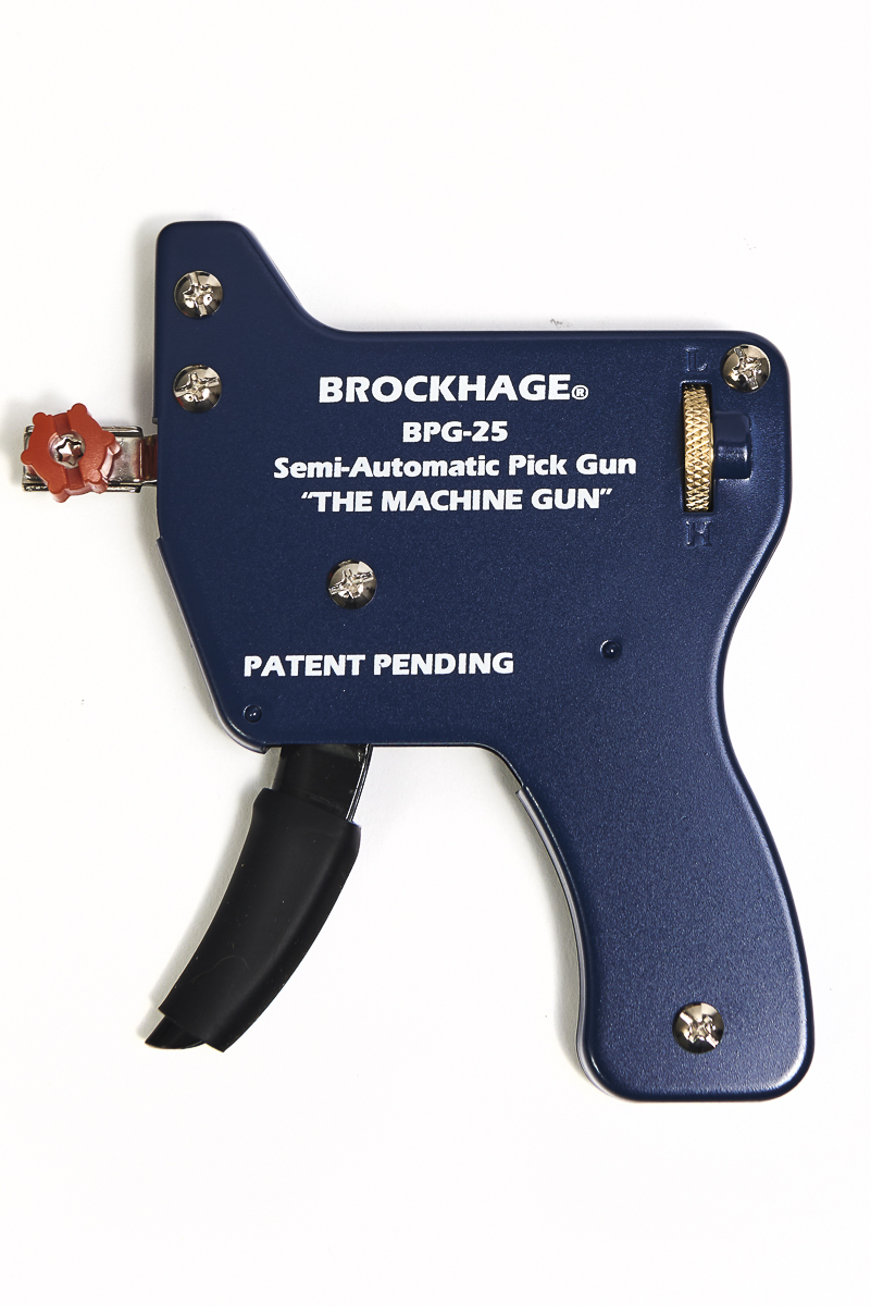 Brockhage Semi-Automatic Lock Pick Gun