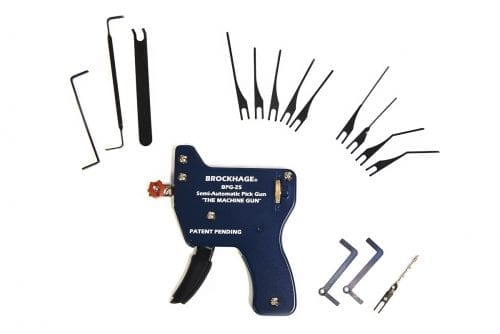 Brockhage Semi Automatic Lock Pick Gun