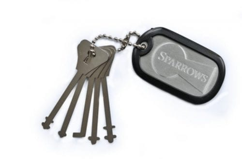 Sparrows Warded Pick Set