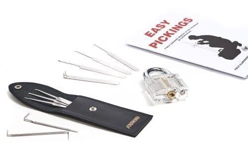 PickPals Intro Bundle Plus Padlock Lock Pick Set