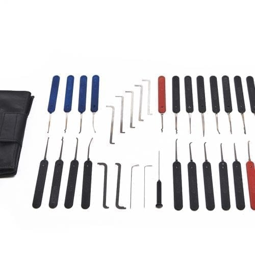 1048cee5e51 C801 Nine Piece Slim Line Lockpick Set