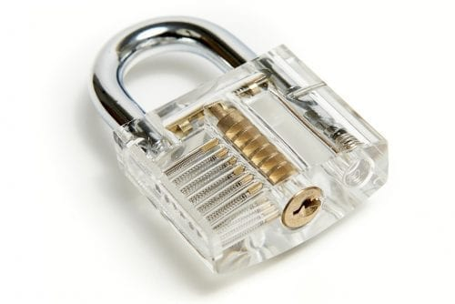 Padlock Practice Lock Picking