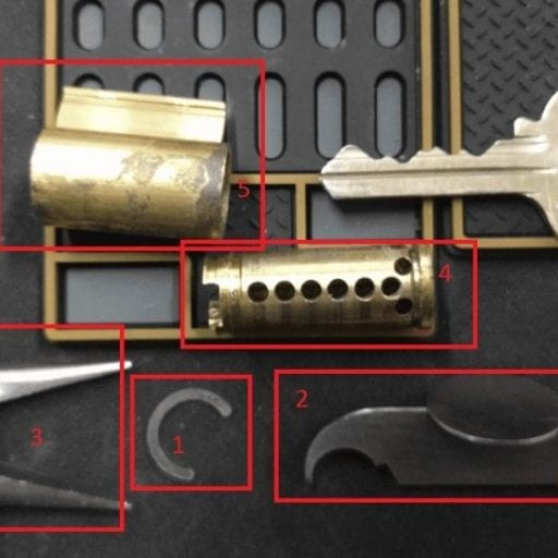 Guide to disassembling and re-keying locks8