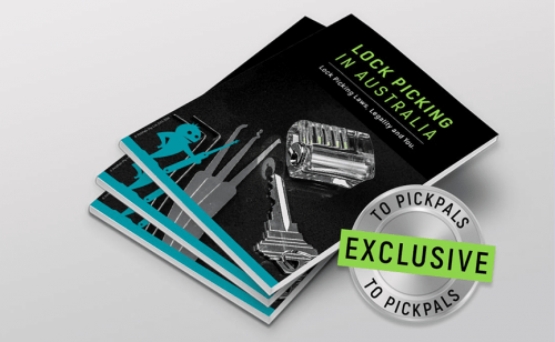 [eBook] Lock Picking in Australia: Lock Picking Laws, Legality and You