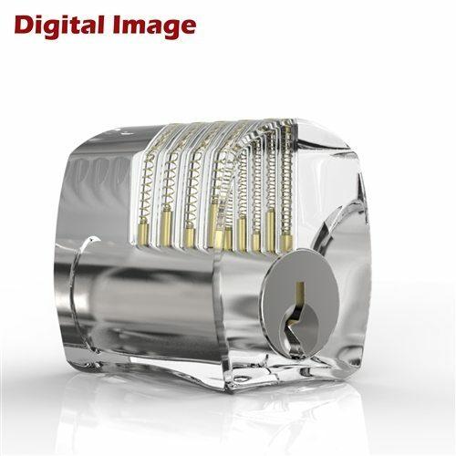 Sparrows Clear Acrylic lock Locksmith Training Tool