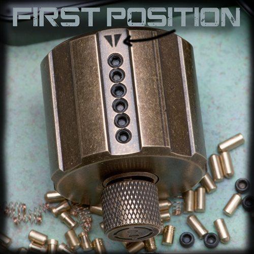 Sparrows Revolver Cylinder Practice Lock