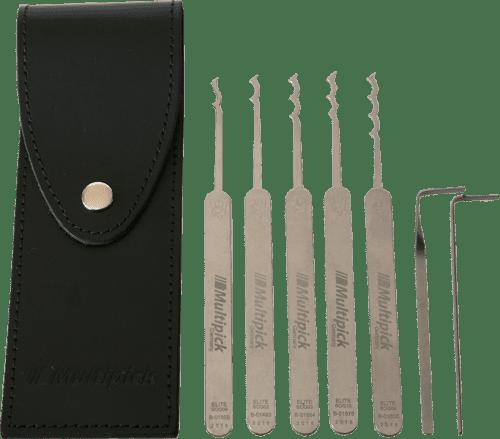 Multipick ELITE Bogota Lock Pick Set – 7 Piece