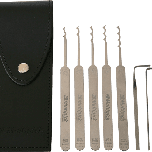 Multipick ELITE Bogota Lock Pick Set - 7 Piece