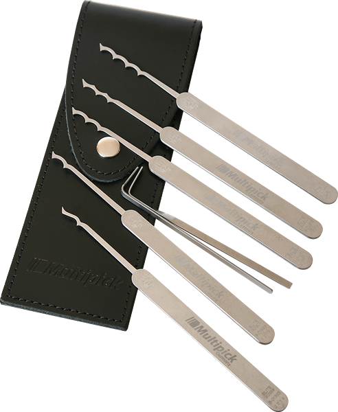 Multipick ELITE Bogota Lock Pick Set