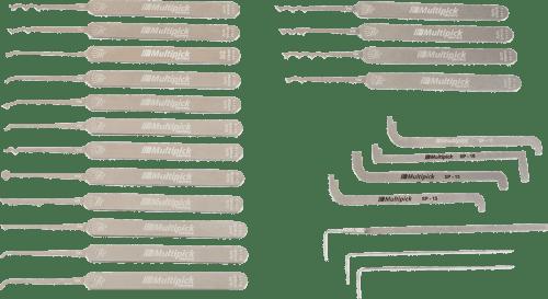 Multipick ELITE Slimline Lock Pick Set