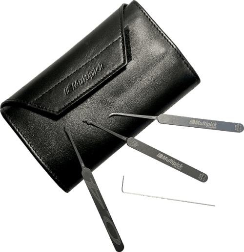 Multipick ELITE 29 PieceDual Gauge Lock Pick Kit