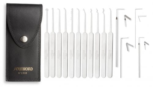 SouthOrd 15-piece lock pick set